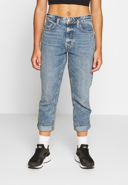 River Island Petite - Relaxed fit jeans - stone blue denim
