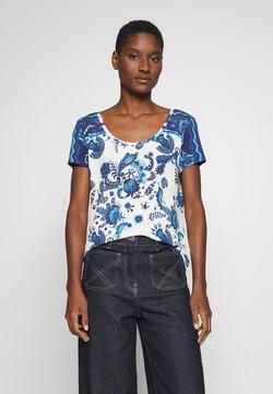 Desigual - MELIAN - T-shirt print - azul dali