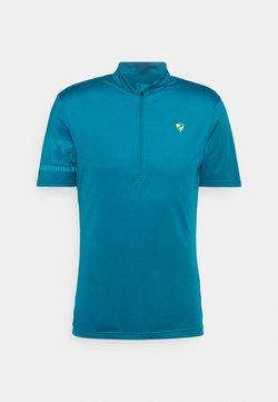 Ziener - NOBUS MAN  - T-Shirt print - crystal blue