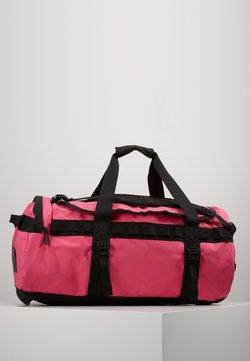 The North Face - BASE CAMP DUFFEL M UNISEX - Sporttasche - mr pink/tnf black
