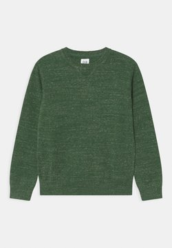 GAP - BOY SOLID CREW - Jersey de punto - fall green