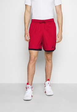 Jordan - DRY AIR SHORT - kurze Sporthose - gym red/black