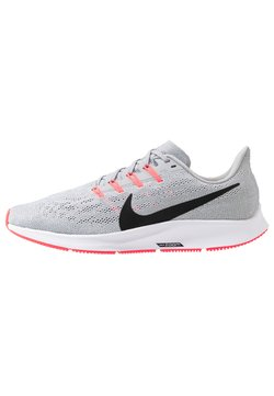Nike Performance - AIR ZOOM PEGASUS  - Löparskor stabilitet - wolf grey/black/white/bright crimson
