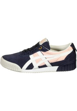 Onitsuka Tiger - DELEGATION F - Sneakers laag - peacoat/cream