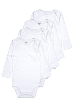 Carter's - 4 PACK - Body - white