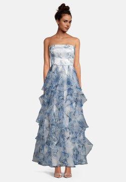 Vera Mont - MIT VOLANT - Cocktailkleid/festliches Kleid - cream/light blue