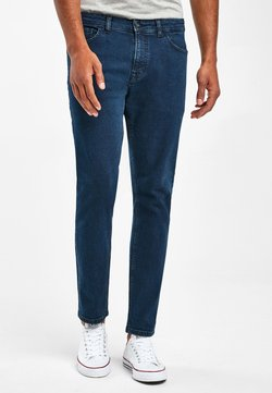 Next - WITH STRETCH - Jeans Slim Fit - mottled royal blue