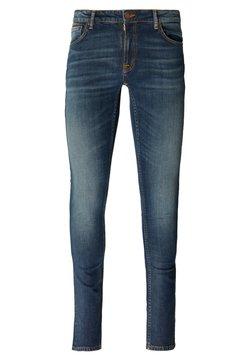 Nudie Jeans - LIN UNISEX - Jeans Skinny Fit - indigo treasure