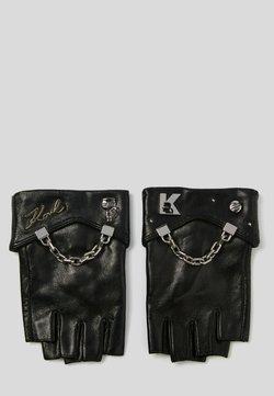 KARL LAGERFELD - Kurzfingerhandschuh - black