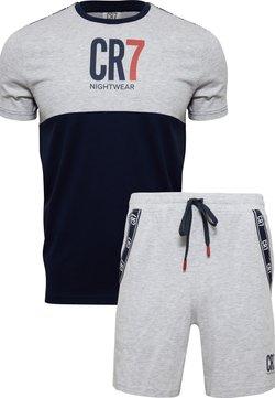 Cristiano Ronaldo CR7 - Nattøj sæt - grau/blau