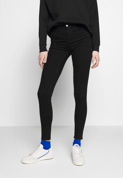 ONLY - ONLIDA MIDWAIST  - Jeans Skinny Fit - black denim