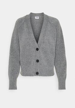 Noisy May - NMIAN - Strickjacke - mottled grey