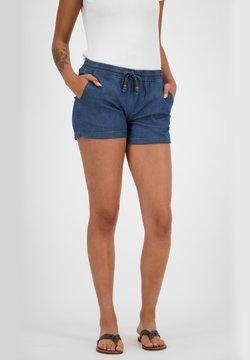 alife & kickin - JANEAK - Jeans Shorts - dark denim