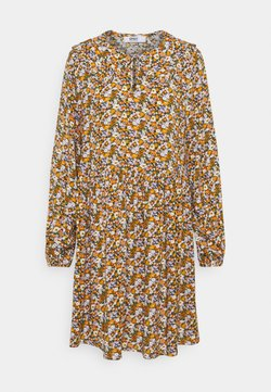 ONLY - ONLTONJA COLLAR DRESS - Vestido camisero - purple/orange