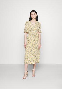 Vila - VIHALINA WRAP DRESS - Kjole - sunshine