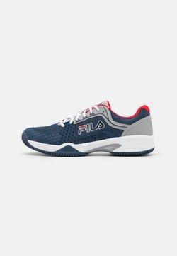 Fila - Scarpe da tennis per tutte le superfici - peacoat blue