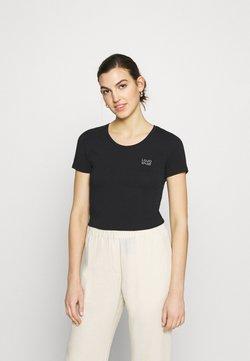 Liu Jo Jeans - BASICA - T-shirt z nadrukiem - nero