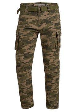 INDICODE JEANS - WILLIAM - Pantalon cargo - dired camouflage