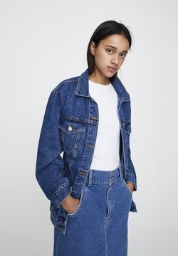 PULL&BEAR - Veste en jean - blue denim