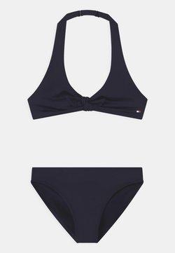 Tommy Hilfiger - TRIANGLE SET - Bikini - blue