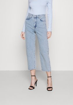 Gina Tricot - COMFY - Relaxed fit -farkut - sky blue