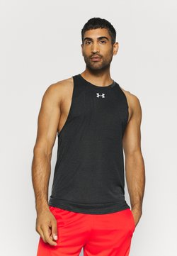 Under Armour - BASELINE PERFORMANCE TANK - Funktionsshirt - black