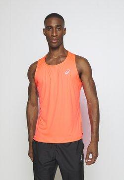 ASICS - SINGLET - Camiseta de deporte - flash coral
