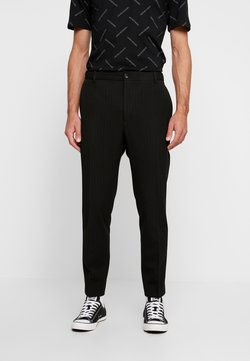 Calvin Klein Tailored - PINSTRIPE TROUSER CASUAL - Broek - black