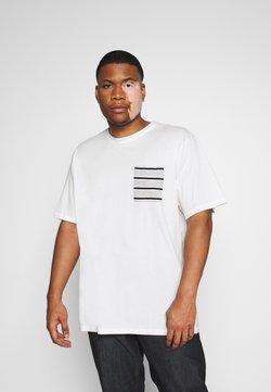 Only & Sons - ONSMELTIN LIFE POCKET TEE - T-shirt imprimé - cloud dancer