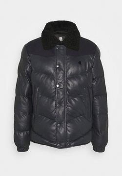 G-Star - WESTERN PUFFER JKT - Leather jacket - mazarine blue