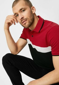 C&A - Poloshirt - dark red