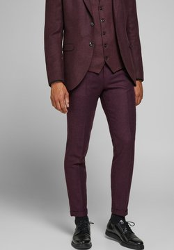 Jack & Jones PREMIUM - Anzughose - vineyard wine