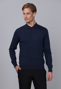 Basics and More - Pullover - navy melange