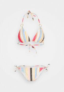 O'Neill - CAPRI BONDEY FIXED SET - Bikini - yellow/red