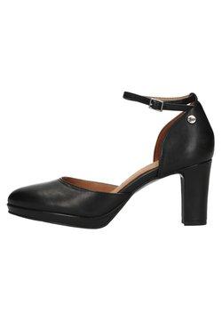 Manfield - High Heel Pumps -  black