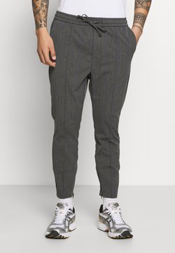 Kings Will Dream - PAULIE SMART JOGGERS - Stoffhose - charcoal check