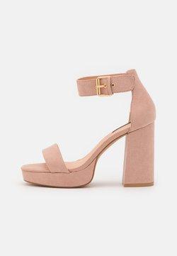 ONLY SHOES - ONLAERIN - Korolliset sandaalit - light rose