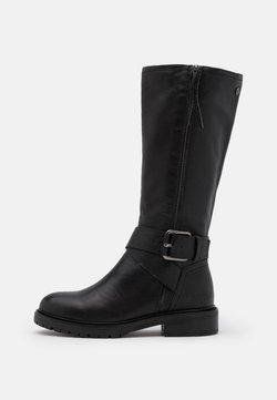 Carmela - LADIES BOOTS  - Cowboy-/Bikerboot - black