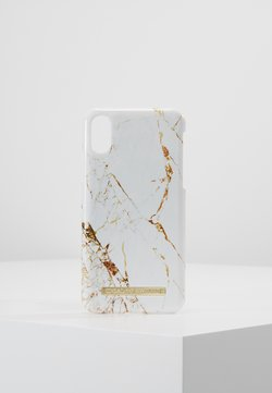iDeal of Sweden - FASHION CASE IPHONE X/XS MARBLE - Etui na telefon - carrara/gold-coloured