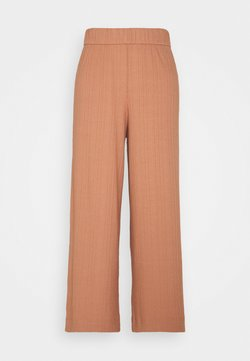 Monki - CILLA TROUSERS - Kangashousut - red