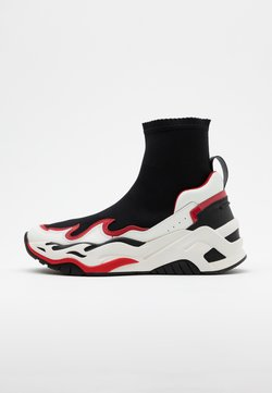 Just Cavalli - Sneaker high - black/white/red