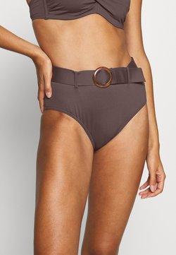 s.Oliver - PANT HIGHWAIST - Bikinialaosa - brown