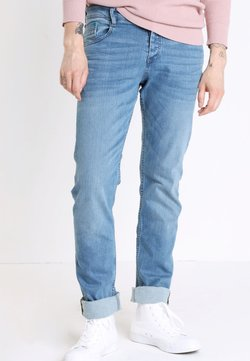 BONOBO Jeans - INSTINCT - Jeans Straight Leg - denim double stone