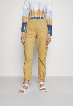 BDG Urban Outfitters - AUTHENTIC PANT - Reisitaskuhousut - oatmeal