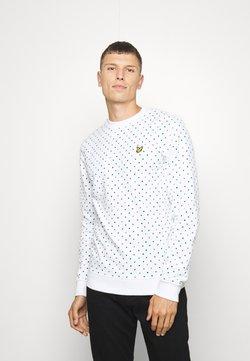 Lyle & Scott - PRINTED - Sweater - white