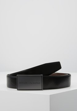 Armani Exchange - BELT - Belt - black/dark brown