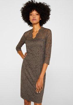 Esprit Collection - DRESS - Cocktailkleid/festliches Kleid - taupe