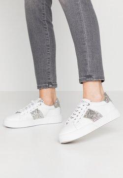 Dune London - ELSIE  - Sneakers laag - silver glitter