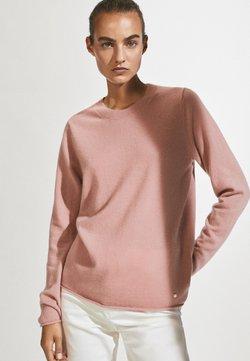 Massimo Dutti - AUS 100% KASCHMIR MIT RUNDAUSSCHNITT  - Jumper - neon pink