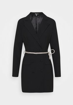 Missguided - BELT BLAZER DRESS - Cocktailkleid/festliches Kleid - black